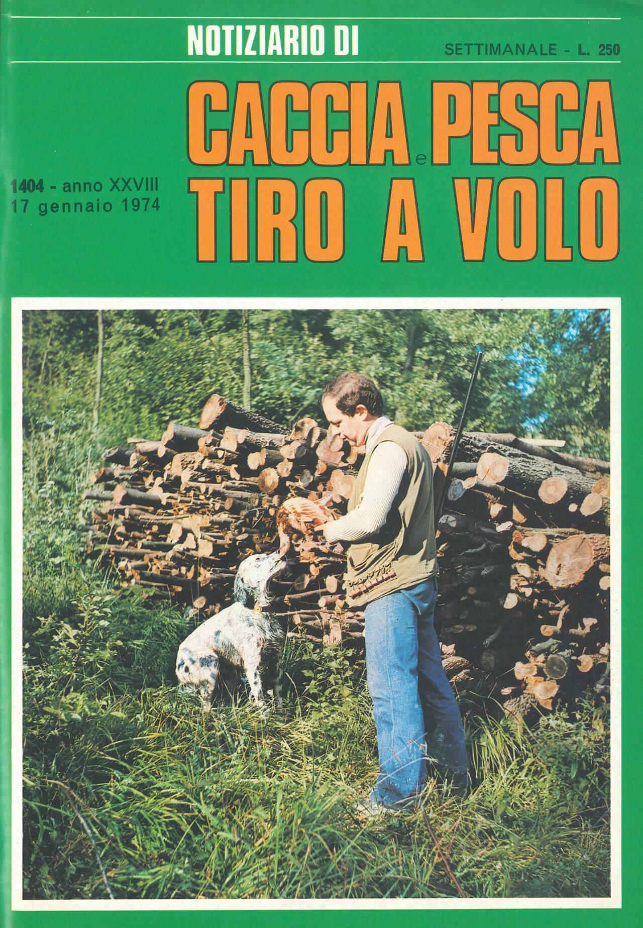1974 Caccia e Pesca Tiro a Volo numero 1404