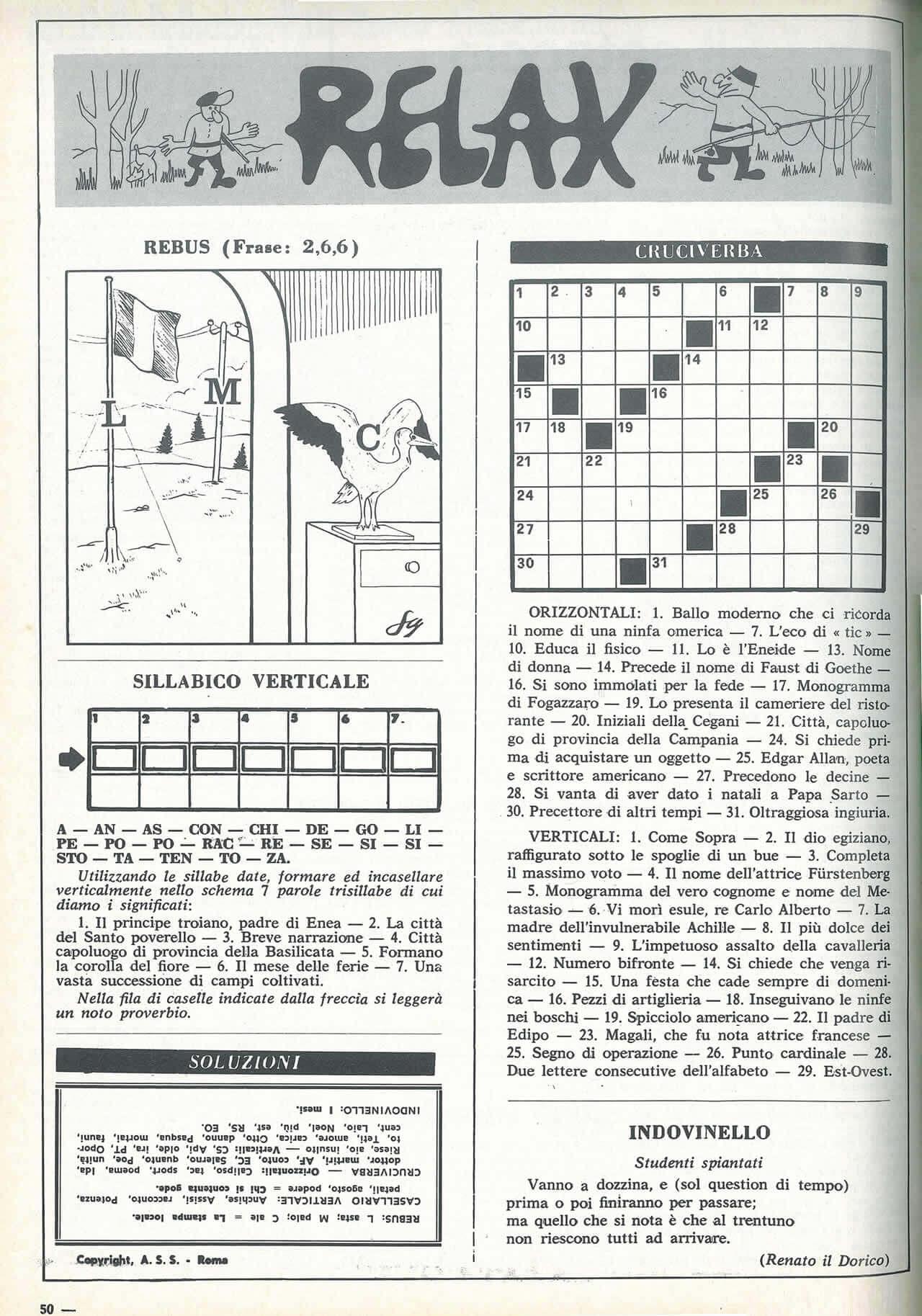 1974 Caccia e Pesca Tiro a Volo numero 1414 Relax