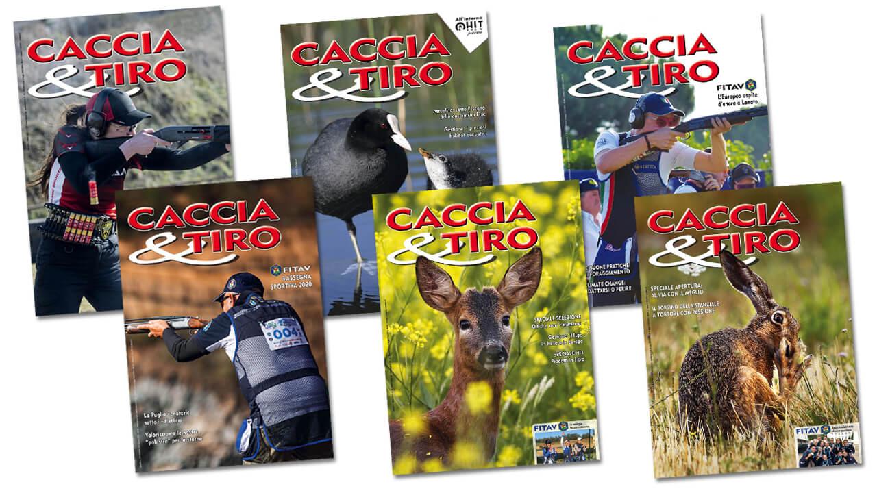 Copertine della rivista Greentime Caccia&Tiro