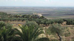 Panoramica di paesaggio pugliese