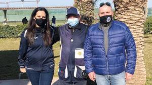 Doto di gruppo Michele Sollami con Cristina Russo e Adriano Avveduto