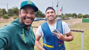 Roberth Vieira e Pietro Pileri