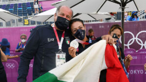 Luciano Rossi e Diana Bacosi