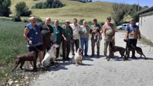 Foto di gruppo cacciatori